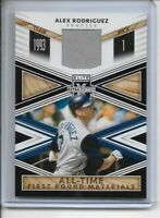 2020 Elite Extra Edition Alex Rodriguez Game Used Patch Relic 🔥