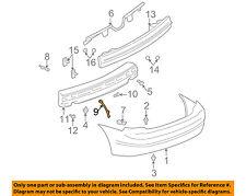 Oldsmobile GM OEM Alero Rear Bumper-Bumper Cover Support Bracket Left 22652347