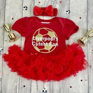 BABY GIRL LIVERPOOL FOOTBALL TUTU ROMPER Red Dress Kit, Liverpool's Cutest Fan
