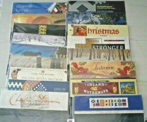 Royal Mail GB Presentation Pack job lot x 60 packs Mint NO STAMPS 1990-1999