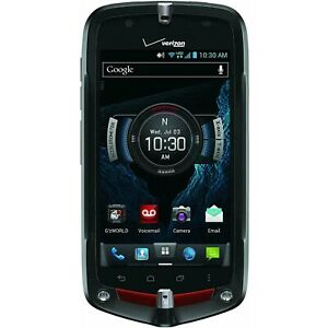 NEW Casio G'zOne Commando C811 - Black (Unlocked) 4G LTE GSM Touch Smartphone