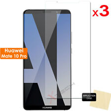 3 Pack of CLEAR LCD Screen Protector Cover Guards for Huawei Mate 10 Pro
