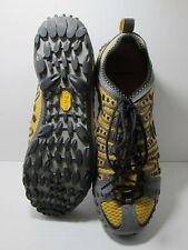 Merrell Robotic Yellow Running Training Shoes Vibram Non-Marking Sole Mens Sz 10
