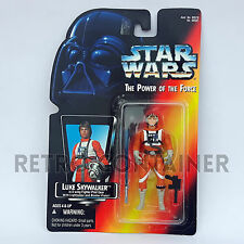 STAR WARS Kenner Hasbro Action Figure - POTF POTF2 - Luke Skywalker X-Wing Pilot