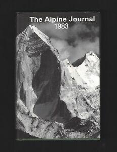 The Alpine Journal 1983 Vol/88 No.332 edited by John Fairley ( Hardback 1983 )
