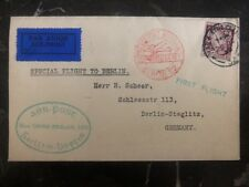 1932 Galway Ireland First Flight Special Cover FFC To Berlin Germany
