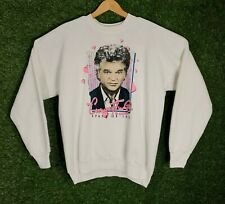 Vtg Sweatshirt Conway Twitty Crazy In Love Made In USA Graphic Crewneck Pullover