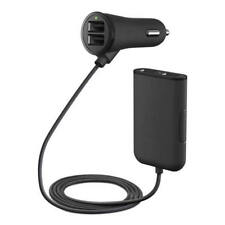 Car Charger Adapter 4 Port USB Fast Charger 9.6A For Smart Mobile Phone Tablets