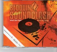 (FR756) Bedouin Soundclash, When The Night Feels My Song - 2005 DJ CD