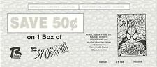 1996 Ralston Foods  ~ SPIDER-MAN CEREAL ~ Manufacturer's coupon NM