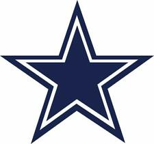 Dallas Cowboys Star Decal ~ Car / Truck Vinyl Sticker - Wall Graphics, Cornholes