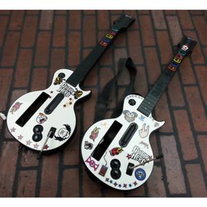 Les Paul Red Octane 95125.805 Nintendo Wii Guitar Lot