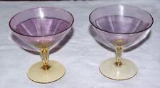 Wine Glass Art Deco Crystal Glass