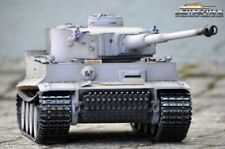 RC tanques Tiger 1 Taigen metal Edition metal torre metal ruedas dentadas v3 bb rrz