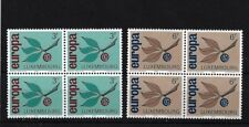 LUXEMBOURG SG769/70, 1965 EUROPA MNH BLOCK OF FOUR