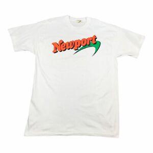 80s Vintage NEWPORT PLEASURE Mens T Shirt XL | Single Stitch Screen Stars