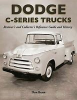 1954 1955 1956 Dodge Truck Restoration Reference Guide Book C1 C3 Manual 6 8 Cly