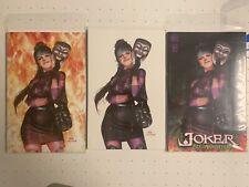 The Joker 80th anniversary Inhyuk Lee virgin variant set Cover A, B And C NM+