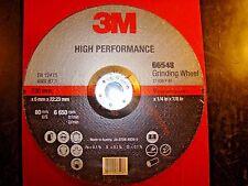 "3M Depressed Center Grinding Wheel 9"" x 1/4"" x 7/8"" Qty. 10 Ea 66548"