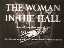 THE WOMAN IN THE HALL, 1947, Jean Simmons, Ursula Jeans classic: DVD-R  Region 2