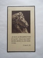 IMAGE MORTUAIRE : Intendant Général Elie-François LAMOTHE - 1949