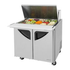 "Turbo Air Tst-36Sd-15-N6 36"" Mega Top Two-Section Prep Table (Tst-36Sd-15)"