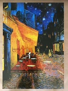 Van Gogh - 'cafe at night' quality art print