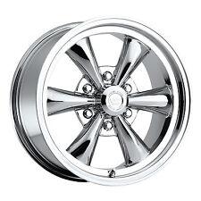 "1- 17x8 Vision 141 Legend 5 6x5.5 19mm Chrome Wheel Rim Inch 17"" 141H7883C19"