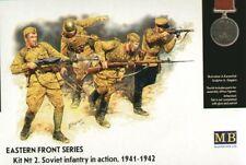 Master Box 1/35 infantería soviética en acción 1941-42 # 3523
