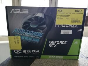 ASUS NVIDIA GeForce GTX 1660 Super OC (PH-GTX1660-O6G)