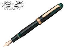 Platinum 3776 Laurel Green Pen Fountain Pen Century 3776 Green