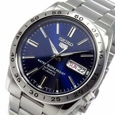 New Seiko 5 Automatic Blue Dial Stainless Steel Men's Watch SNKD99