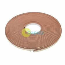 Profile 15m Brown Draught Excluder Weather Seal Strip Door Window Insulation