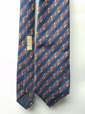 AUTHENTIC HERMES 950 IA Mens 100% Silk Necktie FRANCE Luxury STRIPED Belts 85""