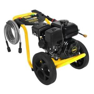 Stanley FATMAX 2.5 GPM 3400 PSI Gas Power Portable High Pressure Washer Cleaner.
