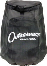OUTERWEARS ATV PRE-FILTER ALL FOAM RED Fits: Polaris Outlaw 500 Yamaha YFM400FA,