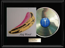 VELVET UNDERGROUND NICO ANDY WARHOL RARE FRAMED RECORD  LP ALBUM COVER DISPLAY