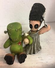 Frankenstein & His Bride Voodoo Doll Patching Up Pinhead Collection Figurine