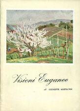 ALIPRANDI Giuseppe, Visione Euganee. Azienda di cura Abano Terme 1961