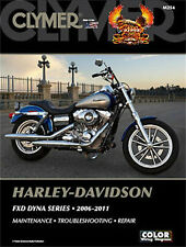 CLYMER SERVICE MANUAL HARLEY DAVIDSON M254 FXD DYNA SUPER GLIDE CUSTOM 2006 2007