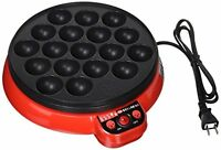 Japanese TAKOYAKI Grill pan maker cooking plate stove machine YR-4252 F/S wTrack