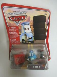 DISNEY PIXAR CARS - FIRST RUN - GUIDO WITH TIRES AND TOOLBOX BRAND NEW !!!