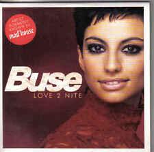 Buse-Love 2 Nite cd maxi single Eurodance holland Cardsleeve 4 tracks