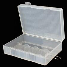 Useful Hard Plastic Battery Protected Case Storage Box for 4 x 26650 Batteries