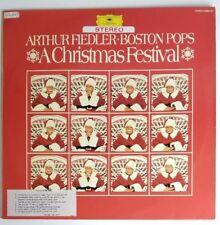Arthur Fiedler Boston Pops A Christmas Festival LP  DG 2584 024