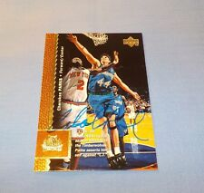 Cherokee Parks Signed Autographed 1997 Upper Deck Card Timberwolves