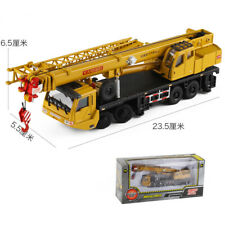 1:55 Scale KDW Machinery Lift Crane Truck Construction Equipment Diecase Model