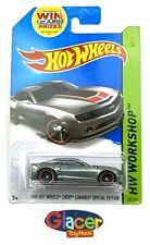 2013 Hot Wheels Chevy Camaro Special Edition Zamac HW Workshop * B1