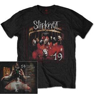 Slipknot Debut Album 19 Shirt S-3XL Tshirt Official Metal Band T-Shirt