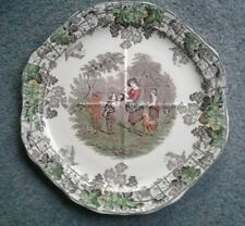 VINTAGE COUPLAND SPODE CHINA  PLATE SPODE BY RON SERIES NO 2 SANDWITCH PLATE